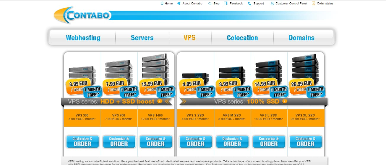 Contabo vps europe