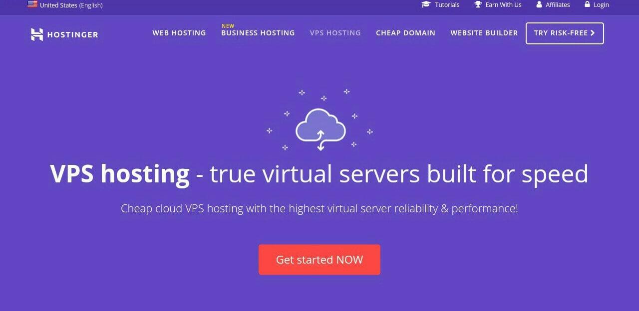 Hostinger Cheap VPS Service Provider