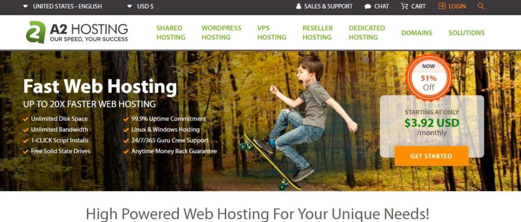 A2 hosting Hosting