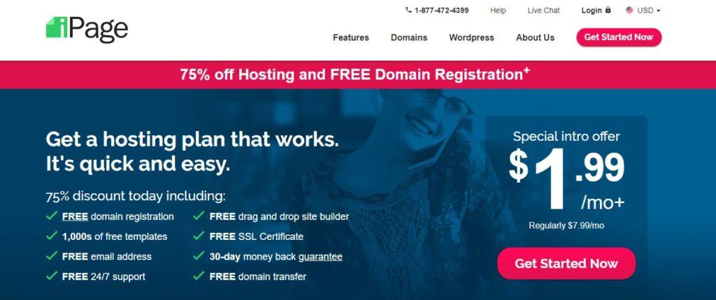 iPage Website Hosting