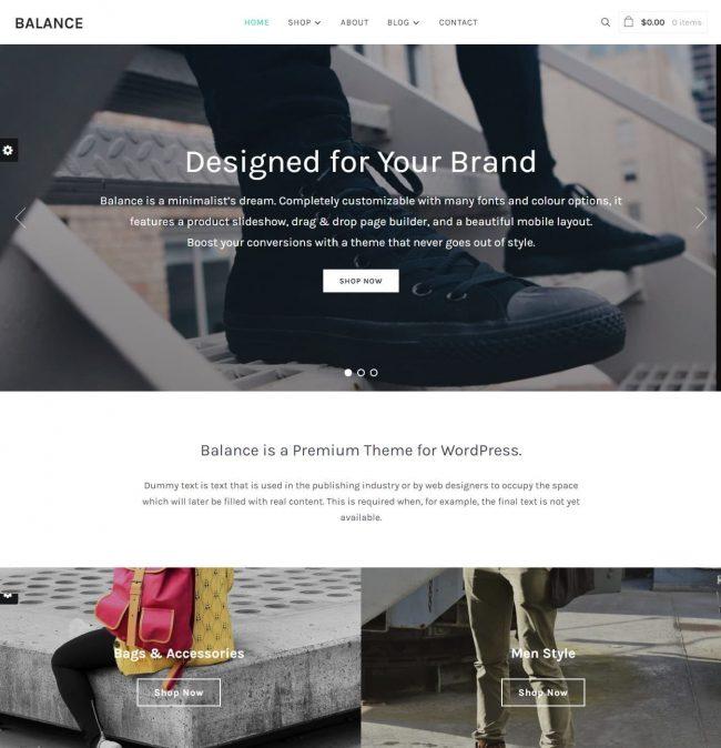 Balance WordPress Theme