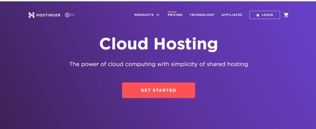 Hostinger Cloud Server