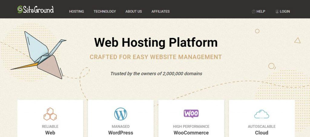 SiteDround Website Hosting
