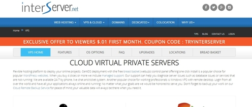 Interserver Cloud