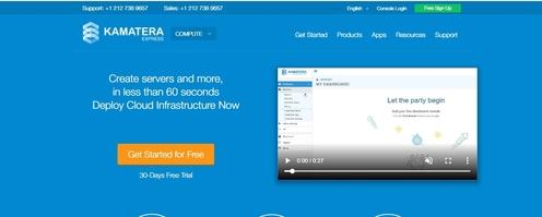 Kamatera servidores cloud